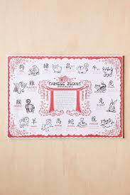 zodiac placemat frame the classic zodiac placemat zodiac wall