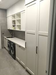 laundry in kitchen matching kitchen bathroom and laundry styles