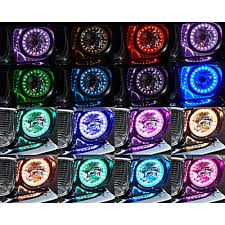 1975 Ford Truck Colors - bronco headlight led halo multi color halogen pair 1966 1977