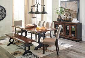 Dining Room Table And Bench Zurani Dining Room Set W Bench Formal Dining Sets Dining Room