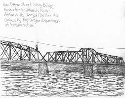 Map Of Corvallis Oregon by Bridgehunter Com Van Buren Bridge