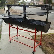 Barbeque Grills Santa Maria Bbq Grill Double Barrel Bbq Grill And Smokers