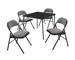 Black Folding Dining Table Folding Dining Table And Chairs Set Great Pairs Of Folding Table