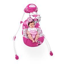 Amazon Baby Swing Chair Amazon Com Disney Minnie Mouse Garden Delights Swing Baby