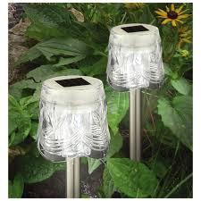 Best Garden Solar Lights by Garden Best Solar Yard Lights Solar Umbrella String Lights