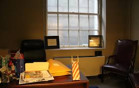 rosenberg relocates to basement office while awaiting