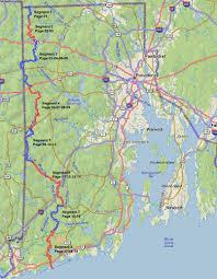 Ri Map Rhode Island U0027s North South Trail Sdizzy U0027s Outdoor Adventures