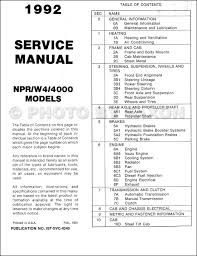 100 isuzu nqr repair manual isuzu npr manual isuzu npr