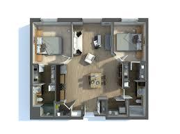 2 bedroom flat plan of two bedroom flat ideas 3d 3d floor plan of a 2 bedroom