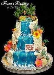 hawaiian theme cake more gabby u0027s 13th birthday pinterest