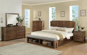 riverside bedroom furniture queen low profile panel bed w bench by riverside furniture wolf