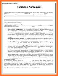 purchase agreement template soap format