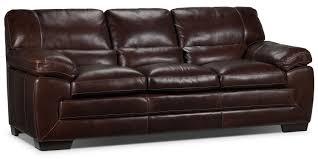 Saddle Brown Leather Sofa Durango Reclining Sofa Saddle Brown Leon U0027s