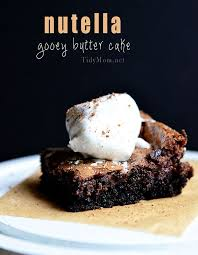 nutella gooey butter cake you need this in your life recipe at