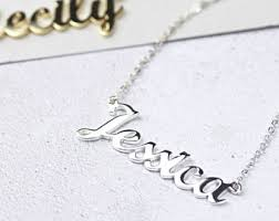 Name Jewelry Custom Name Jewelry Etsy