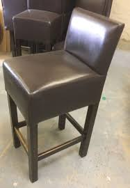 bar stools leather high back bar stools secondhand pub equipment