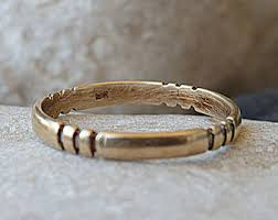 simple wedding bands for simple wedding band etsy