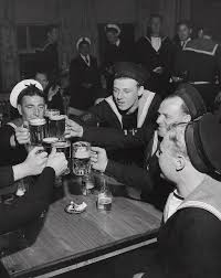 sailors toasting in celebration of victory by jacob lofman