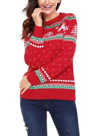 knit christmas reindeer ribbed knit christmas sweater lookbook store