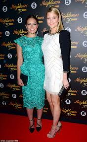 Valance Photos Holly Candy And Sister Olympia Valance Attend Neighbours U0027 30th