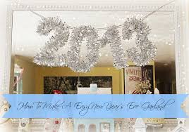 New Year S Eve Decorations To Make by 6 Diy New Year U0027s Eve Decorations The Dandy Liar Fashion