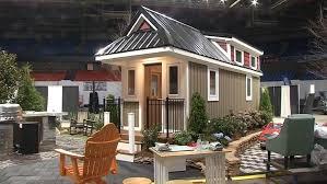 tiny house show inside a tiny home display at wv home show wchs