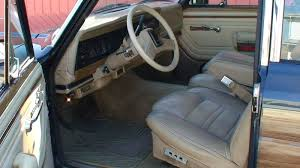 1989 jeep wagoneer interior 1990 jeep grand wagoneer information and photos momentcar