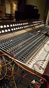 Recording Studio Mixing Desk by Studios Tiny Telephone Recording
