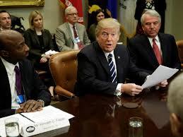 Trump Kumbaya Donald Trump Talks Tough About Big Business In Public But Is Nice