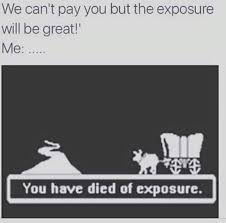 Oregon Trail Meme - when you are a designer fresh out of college