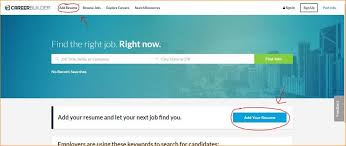 Career Builders Resume 11 Best Sites To Post Your Resume Online For Free Zipjob