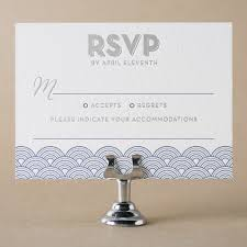 Invitations With Response Cards Letterpress Response Cards