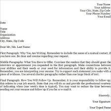 cover letter format online format