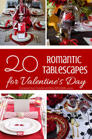 Valentine S Day Tablecloth by 20 Romantic Tablescapes For Valentine U0027s Day Celebrate Every Day