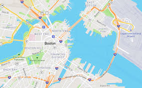 Back Bay Boston Map by Mapbox Streets Redesign U2013 Points Of Interest