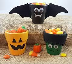 Halloween Arts And Crafts Ideas Pinterest - 265 best halloween pot crafts images on pinterest halloween