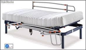 barandillas para camas cama el礬ctrica articulada equipada de barandillas abatibles de