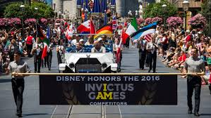 prince harry s invictus kicked with a heroes parade at