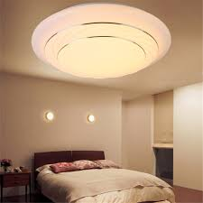 24w led dimmable ceiling light round flush mounted fixture kitchen