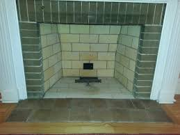 Fireplace Brick Stain by Oak Park Lagrange Illinois Brick Fireplace Rebuild Brick Staining