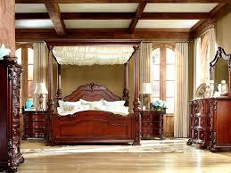 bedroom mesmerizing ashley furniture canopy bedroom sets wood