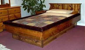 Water Bed Frames Pine Hardsided Waterbed Frames Waterbedtrends