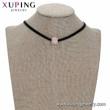 rose gold necklace fashion images China new fashion women jewelry korean design leather custom rose jpg