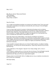 Spanish For Home Cover Letter Spanish Choice Image Cover Letter Ideas