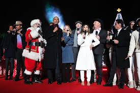 chance the rapper performs at national christmas tree lighting