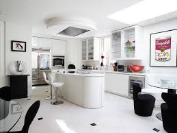 Airy Kitchen Glazing Vision Rooflights Enhance Extensive London Roof Terrace