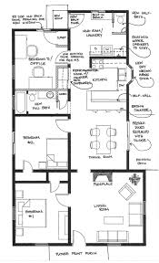 Bahay Kubo Design And Floor Plan by House Layout Plan Free Small Craftsman Bungalow Floor Plan And