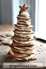 easy gingerbread tree recipe tutorial