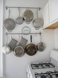 Kitchen Ideas For Hanging Pots And Pans 4 Diy Pinterest