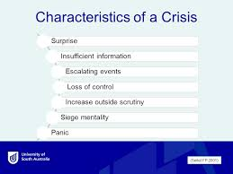 siege mentality definition issues and crisis communication management week 7 comm 1057